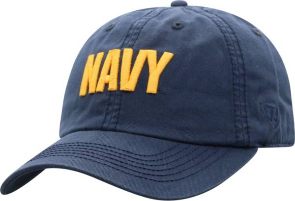 Top of the World Men's Navy Midshipmen Navy Crew Washed Cotton Adjustable Hat product image