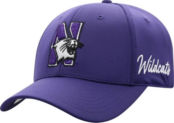 Top of the World Men's Northwestern Wildcats Purple Phenom 1Fit Flex Hat product image