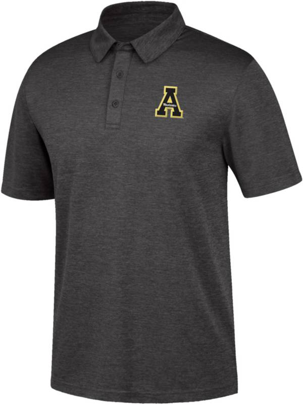 Top of the World Men's Appalachian State Mountaineers Black Polo product image