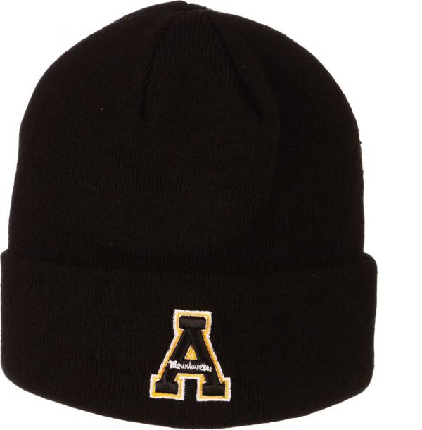 Zephyr Men's Appalachian State Mountaineers Cuffed Knit Black Beanie product image