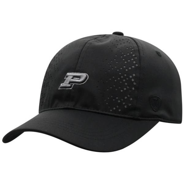 Top of the World Women's Purdue Boilermakers Focal 1Fit Flex Black Hat product image