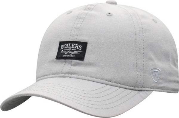 Top of the World Men's Purdue Boilermakers Grey Ante Adjustable Hat product image