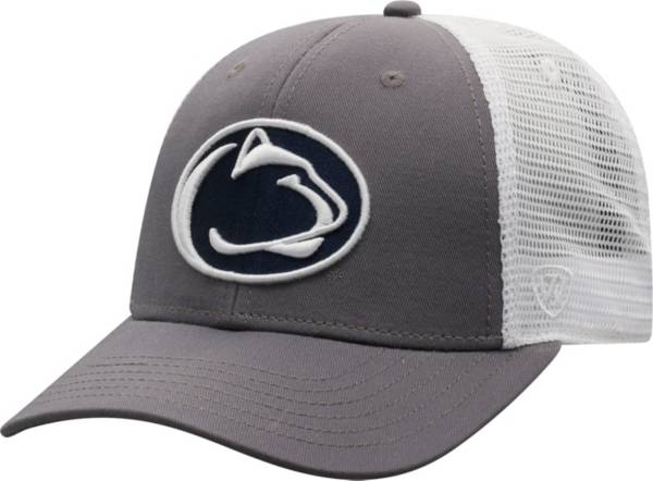 Top of the World Men's Penn State Nittany Lions Grey/White BB Two-Tone Adjustable Hat product image
