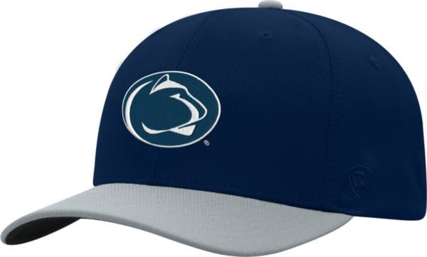 Top of the World Men's Penn State Nittany Lions Blue Reflex Two-Tone Fitted Hat product image