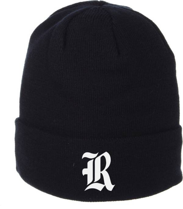 Zephyr Men's Rice Owls Blue Cuffed Knit Beanie product image