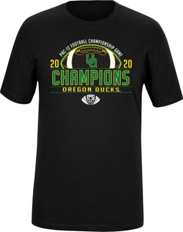 Top of the World Men's 2020 Pac-12 Football Champions Oregon Ducks Locker Room T-Shirt product image