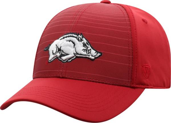 Top of the World Men's Arkansas Razorbacks Cardinal McGavin 1Fit Flex Hat product image