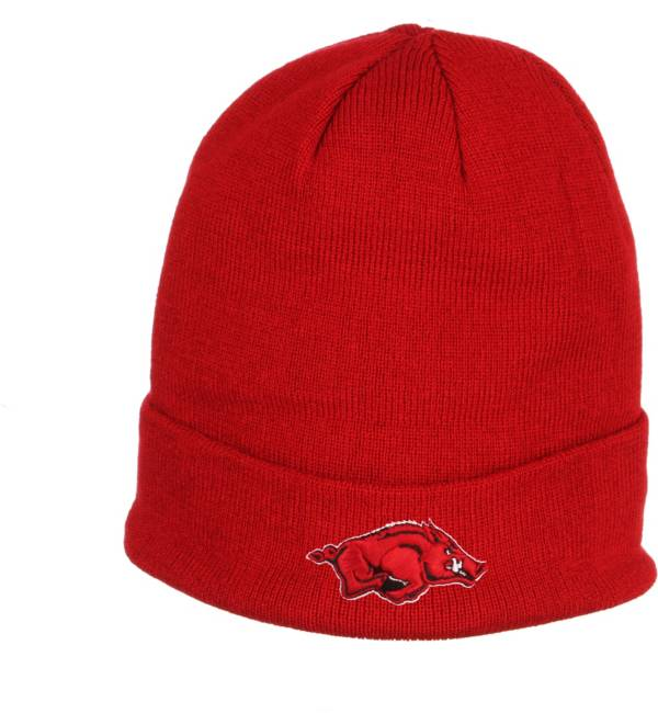 Zephyr Men's Arkansas Razorbacks Cardinal Cuffed Knit Beanie product image