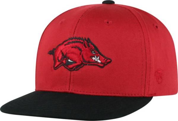 Top of the World Youth Arkansas Razorbacks Cardinal Maverick Adjustable Hat product image
