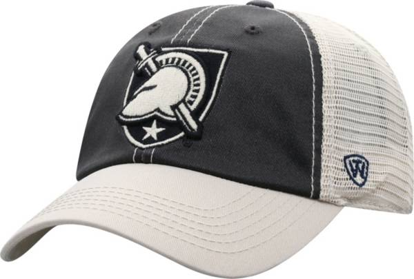 Top of the World Men's Army West Point Black Knights Army Black/White Off Road Adjustable Hat product image