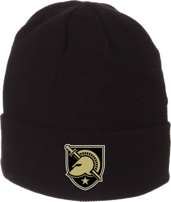 Zephyr Men's Army West Point Black Knights Army Black Cuffed Knit Beanie product image