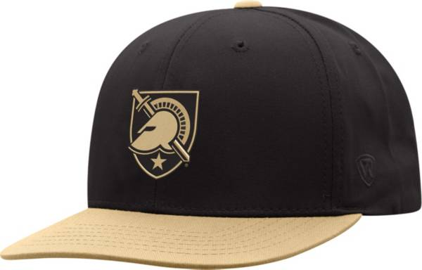 Top of the World Youth Army West Point Black Knights Maverick Adjustable Army Black Hat product image