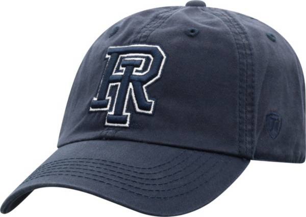 Top of the World Men's Rhode Island Rams Navy Crew Washed Cotton Adjustable Hat product image