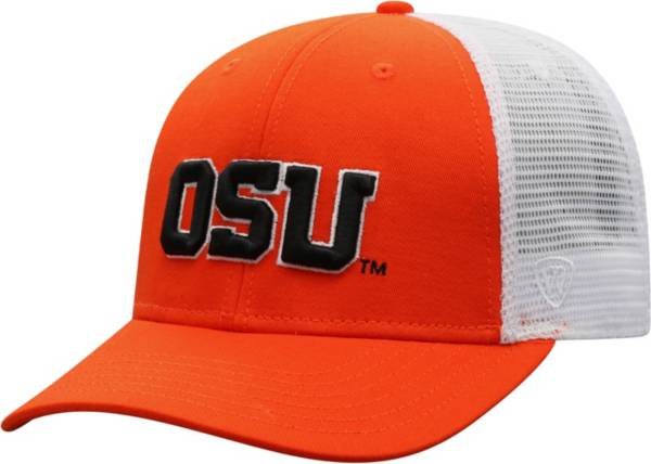 Top of the World Men's Oregon State Beavers Orange/White BB Two-Tone Adjustable Hat product image