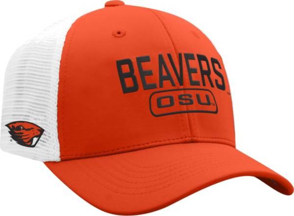 Top of the World Men's Oregon State Beavers Orange Notch Adjustable Snapback Hat product image