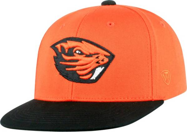 Top of the World Youth Oregon State Beavers Orange Maverick Adjustable Hat product image