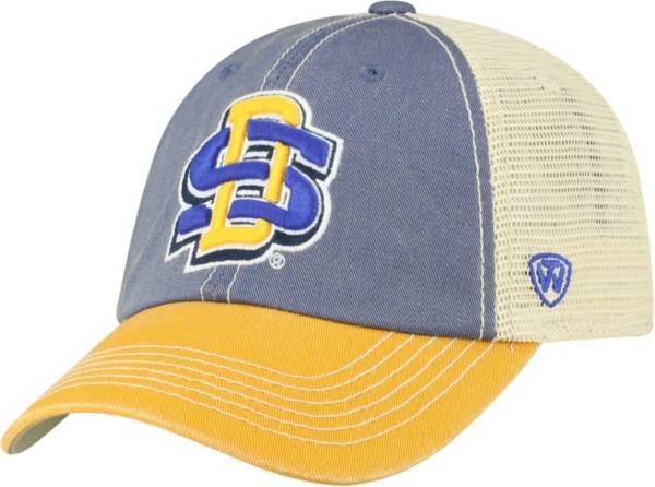 Top of the World Men's South Dakota State Jackrabbits Blue/White/Gold Off Road Adjustable Hat product image
