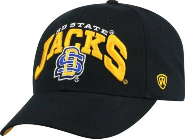 Top of the World Men's South Dakota State Jackrabbits Black Whiz Adjustable Hat product image