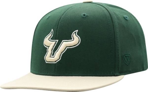 Top of the World Youth South Florida Bulls Green Maverick Adjustable Hat product image