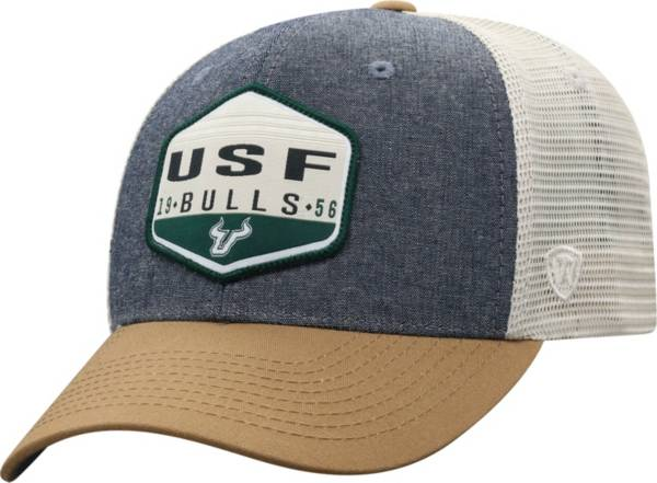 Top of the World Men's South Florida Bulls Grey Wild Adjustable Hat product image