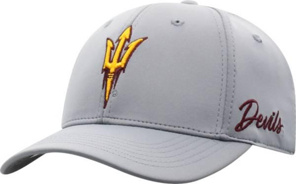 Top of the World Men's Arizona State Sun Devils Grey Phenom 1Fit Flex Hat product image