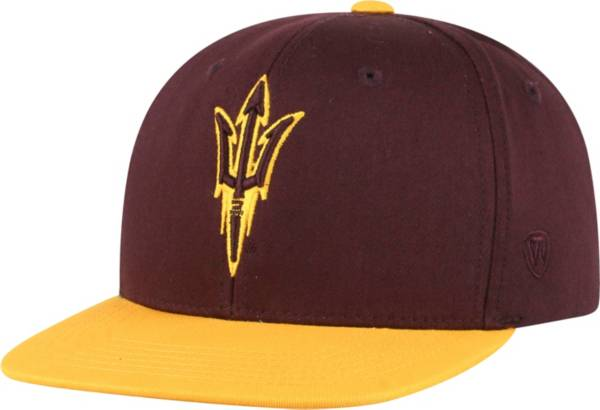 Top of the World Youth Arizona State Sun Devils Maroon Maverick Adjustable Hat product image