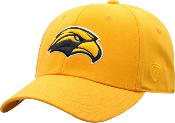 Top of the World Men's Southern Miss Golden Eagles Gold Premium 1Fit Flex Hat product image