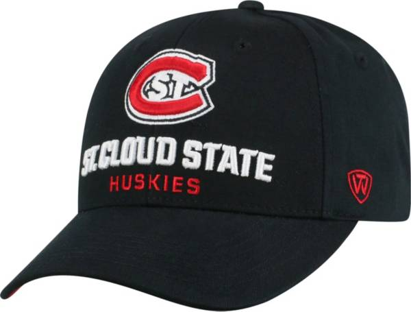 Top of the World Men's St. Cloud State Huskies Black Whiz Adjustable Hat product image