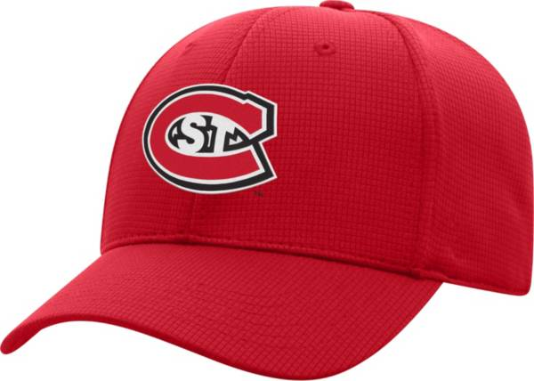 Top of the World Men's St. Cloud State Huskies Spirit Red Booster Plus 1Fit Flex Hat product image