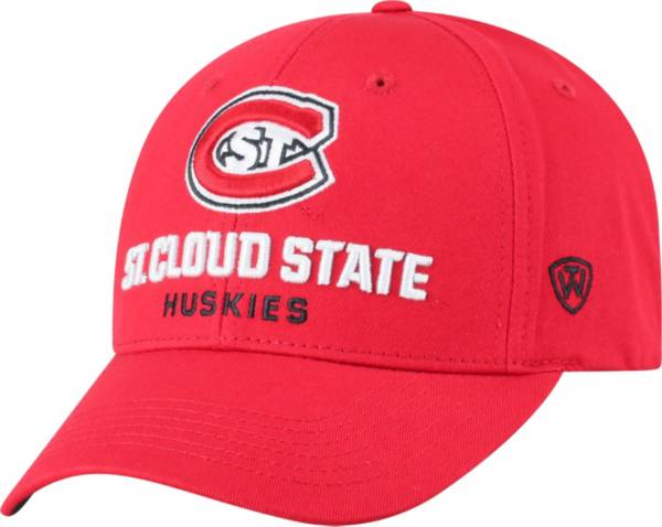 Top of the World Men's St. Cloud State Huskies Spirit Red Whiz Adjustable Hat product image