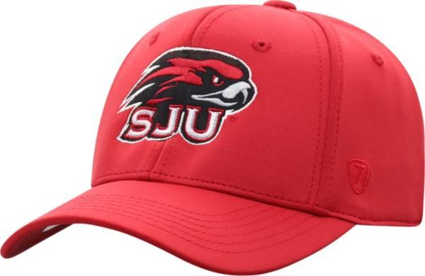 Top of the World Men's Saint Joseph's Hawks Crimson Phenom 1 1Fit Flex Hat product image