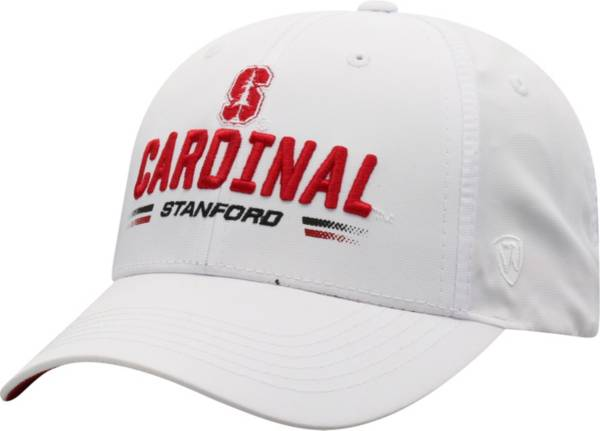 Top of the World Men's Stanford Cardinal Centralize Aura Adjustable White Hat product image