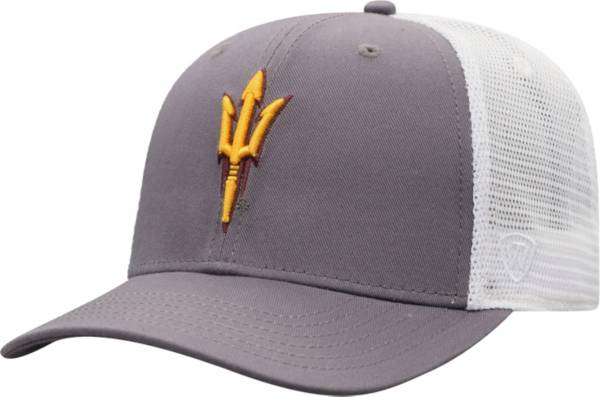 Top of the World Men's Arizona State Sun Devils Maroon/White BB Two-Tone Adjustable Hat product image