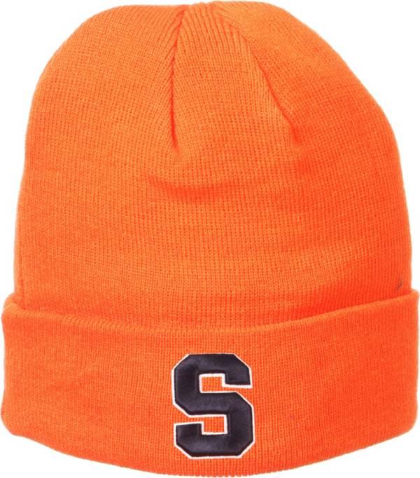 Zephyr Men's Syracuse Orange Orange Cuffed Knit Beanie product image