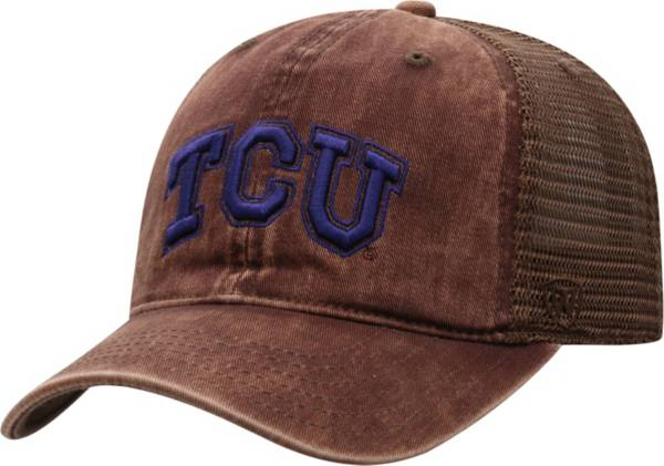 Top of the World Men's TCU Horned Frogs Brown Chips Two-Tone Adjustable Hat product image