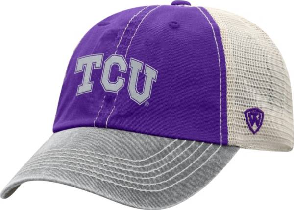 Top of the World Men's TCU Horned Frogs Purple/White Off Road Adjustable Hat product image