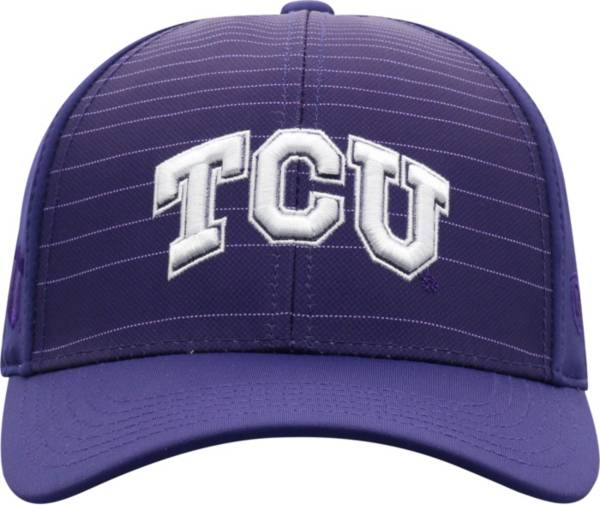 Top of the World Men's TCU Horned Frogs Purple McGavin 1Fit Flex Hat product image