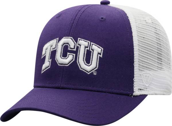 Top of the World Men's TCU Horned Frogs Purple/White BB Two-Tone Adjustable Hat product image