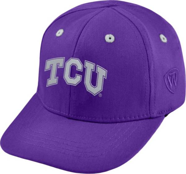 Top of the World Infant TCU Horned Frogs Purple The Cub Fitted Hat product image