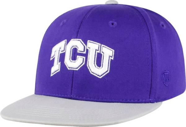 Top of the World Youth TCU Horned Frogs Purple Maverick Adjustable Hat product image