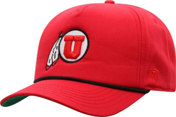 Top of the World Men's Utah Utes Crimson Dally Adjustable Hat product image