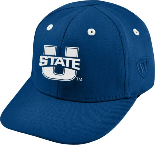 Top of the World Infant Utah State Aggies Blue The Cub Fitted Hat product image