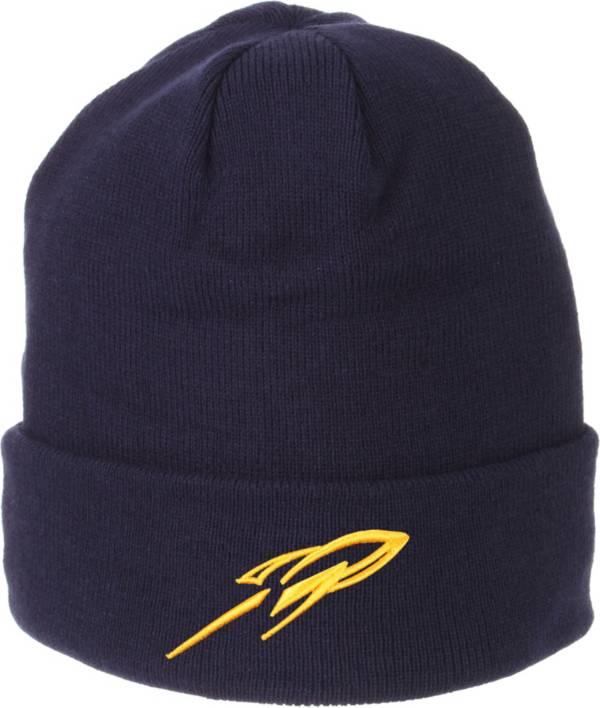Zephyr Men's Toledo Rockets Midnight Blue Cuffed Knit Beanie product image