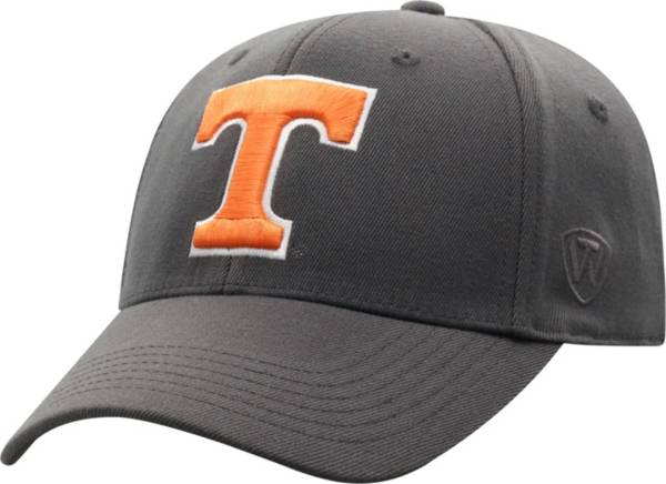 Top of the World Men's Tennessee Volunteers Grey Premium 1Fit Flex Hat product image