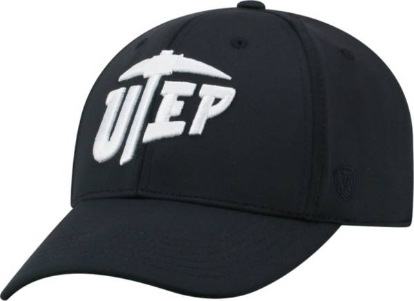 Top of the World Men's UTEP Miners Tension 1Fit Flex Black Hat product image