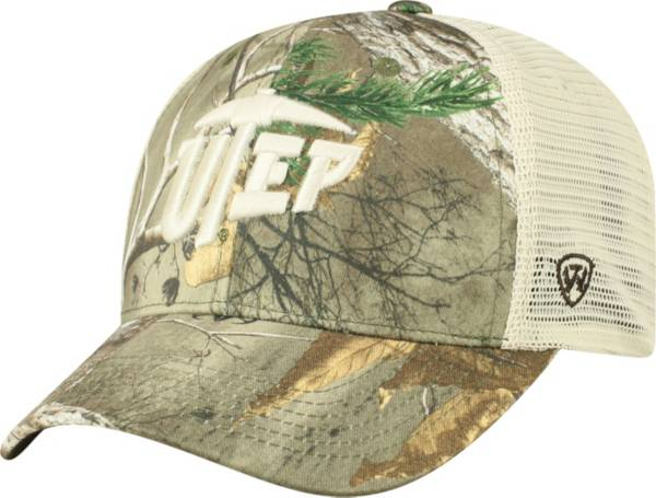 Top of the World Men's UTEP Miners Camo Prey Adjustable Snapback Hat product image