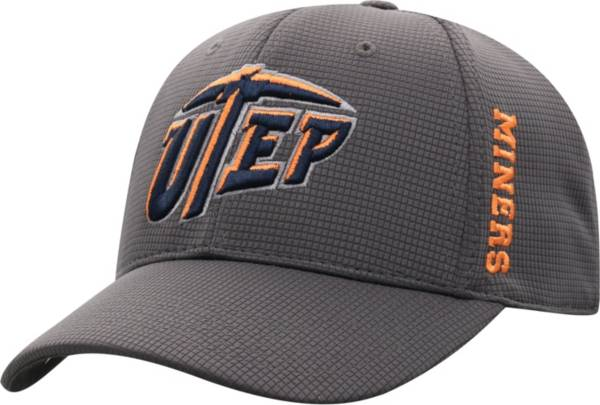 Top of the World Men's UTEP Miners Grey Booster Plus 1Fit Flex Hat product image