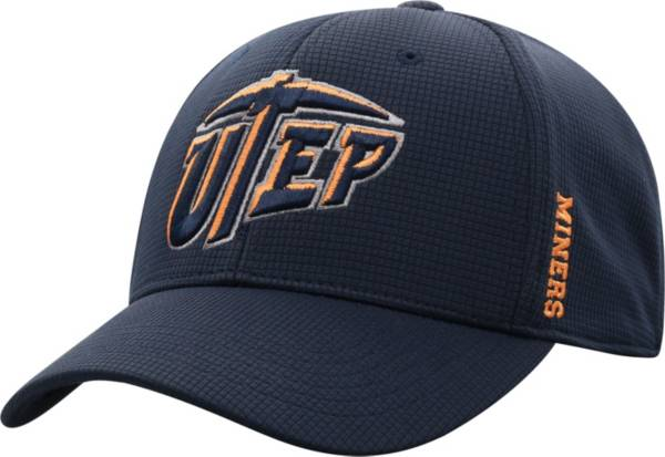 Top of the World Men's UTEP Miners Navy Booster Plus 1Fit Flex Hat product image