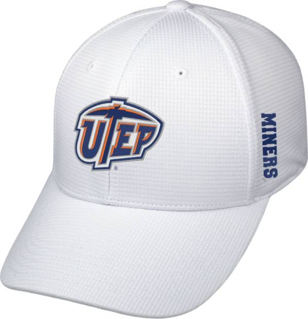 Top of the World Men's UTEP Miners Booster Plus 1Fit Flex White Hat product image