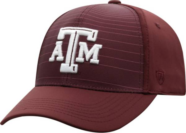 Top of the World Men's Texas A&M Aggies Maroon McGavin 1Fit Flex Hat product image